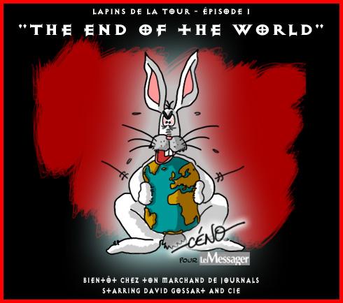 Céno Dessinateur - La Babole : Les lapins source de la fin de l'humanité